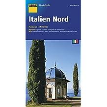 ADAC Länderkarte Nord-Italien 1:500.000