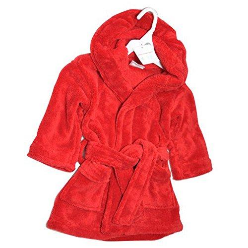 Soft Touch - Peignoir - Bébé (Fille) 0 à 24 Mois Rouge Red 12-18 Mois - Rouge - Small