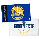 WinCraft NBA GOLDEN STATE WARRIORS Authentic On-Court Bench Handtuch 107cm x 56cm