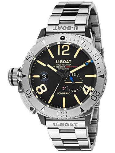 Sommerso orologio Uomo Analogico Automatico con cinturino in Acciaio INOX 9007/A/MT