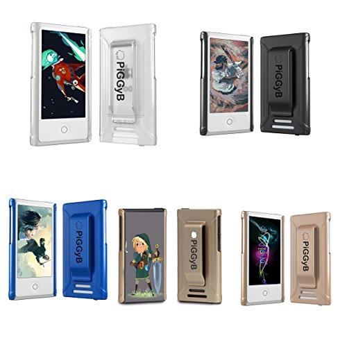 piggyb Clip It. Nano 7Fall Nano 8Cover Durable Sportliche Gürtel Clip für iPod Nano 7. Generation 7G md481ll/A A1446mkn52ll/A für iPod Nano 78GB 16GB und iPod Nano 88GB 16GB, 5-Assorted