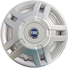 Fiat - Tapacubos de la marca oficial para autocaravana o furgoneta Fiat Ducato, 38,1 cm, diseño de logotipo, color azul