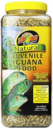 Zoo Med Natural Juvenile Iguana Food, 567g, Futterpellets für Leguane