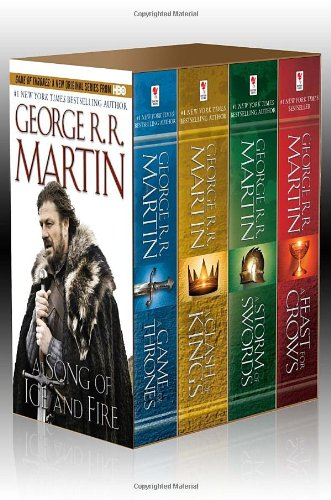 George R. R. Martin\'s A Game of Thrones 4-Book Boxed Set: A Game of Thrones, A Clash of Kings, A Storm of Swords, and A Feast for Crows (A Song of Ice and Fire)