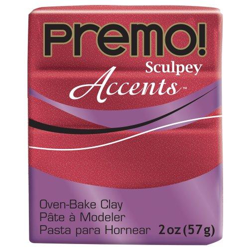 Premo Sculpey Akzente (rot Glitzer) -