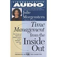 Time Management From The Inside Out Cs by Julie Morgenstern (2000-10-01)