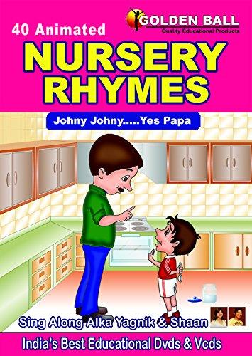 Golden Ball 40 Animated Nursery Rhymes (JOHNY JOHNY.. YES PAPA) DVD