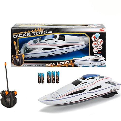 #0618 RC Motorboot Sea Lord mit 2-Kanal Funkfernsteuerung, 27MHz Frequenz, 34cm • Spielzeug Ferngesteuertes Boot Modellboot