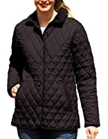 Ladies Champion Country Estate Diamond Quilted Short Winter Coat Jacket 1623