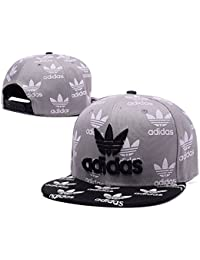 2017 Cool Summer Adidas Casquette (Grey with Black Brim)