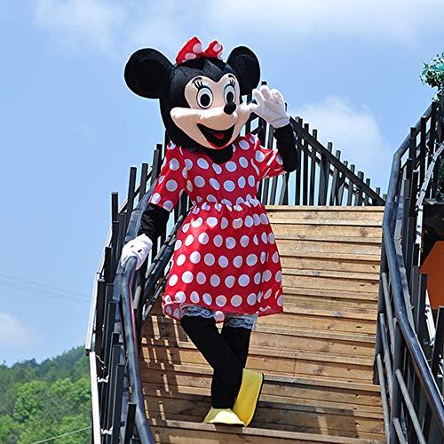 Einfach Kostüm Karton - Minnie Mickey Maskottchen Cartoon Puppe Kostüm Walking Cosplay Requisiten Mickey Mouse Anime Performance Puppe Kleidung Aktivität Display Werbung