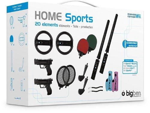 """Wii - Zubehör-Set """"Mega Sports Pack 20in1"""" Black"""