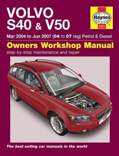 Volvo S40 & V50 por Haynes Publishing