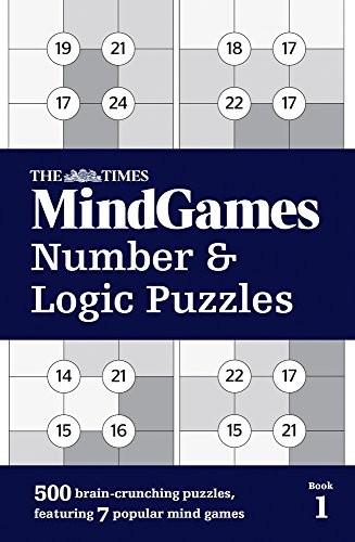 The Times Mind Games Number and Logic Puzzles Book 1 thumbnail