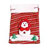 Weihnachten Süßigkeiten Geschenktüte, OYSOHE Dekoration Kreative Home Party Tasche Souvenir (D)