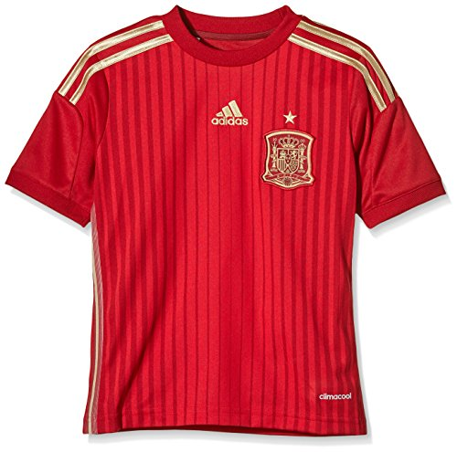 adidas H JSY Y-Camiseta FSF pour Homme Rouge/Or