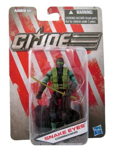 G.I. Joe Snake Eyes Commando - Dollar General Exclusive - Actionfigure 2011 von Hasbro
