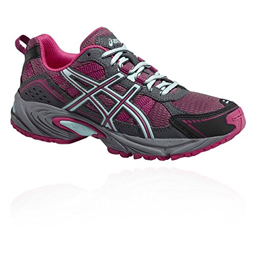 Asics Gel-Galaxy 9 GS, Zapatillas de Deporte Infantil, Morado (Orchid/Flash Coral/Dark Purple), 38 EU