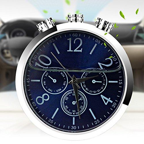 HAIT Auto Uhr Duft Diffusor Vent Clip Lufterfrischer Ätherisches Öl Luftreiniger Entfernen Rauch Und Bad - Luftreiniger Entfernen Rauch