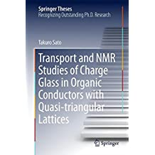Transport and NMR Studies of Charge Glass in Organic Conductors with Quasi-triangular Lattices (Springer Theses)
