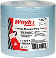WypAll L20 EXTRA + efficient general purpose wipers, Wiper cloth roll, Blue color, 500 sheets, 1 roll-7300