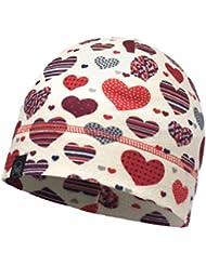 Buff Polar Fleece Hat Accesorio para la Cabeza, Niña, Hearty Multi, Medium