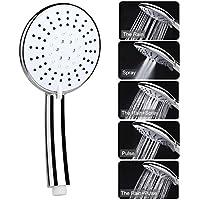 Handbrause,Duschkopf Handbrausen Bad Hand Dusche mit 5 Modi Dusche Etmury Universal Dusch Kopf Chrom