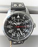 C-160 Transall Aviator silber Armbanduhr - Sonderedition - limitierte Auflage