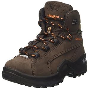 Lowa Renegade II GTX MID Junior, Stivali da Escursionismo Unisex – Bambini, Marrone (Braun/Orange), 27 EU