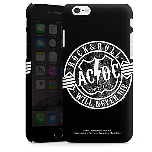 Apple iPhone 7 Plus Silikon Hülle Case Schutzhülle ACDC Merchandise Rock & Roll Premium Case matt