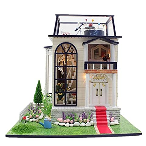 Mini Haus Möbel Kit Dekoration Haus Handwerk Holz Puppen Zimmer