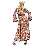 Widmann 7622L - Kostüm Flower Power, Kleid, Größe XL