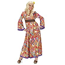 Ladies Hippie Woman Costume Small UK 8-10 for 60s 70s Hippy Fancy Dress