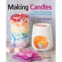 Making Candles: Create 20 decorative candles to keep or to give