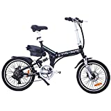 Cyclamatic Pro CX4 Dual Suspension Foldaway Electric Bike - Black