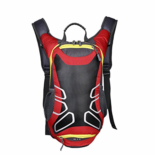 XingYu-XY15L Wasserdicht Fahrradrucksack - Anti-Crack Breath Antiskid Hiking Camping Mountaineering Outdoor Cycling Shoulder Backpack Rote