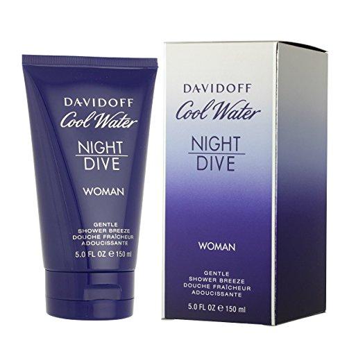 Damen Cool Water (Davidoff Cool Water femme/women, Night Dive Gentle Shower Breeze, 1er Pack (1 x 150 g))