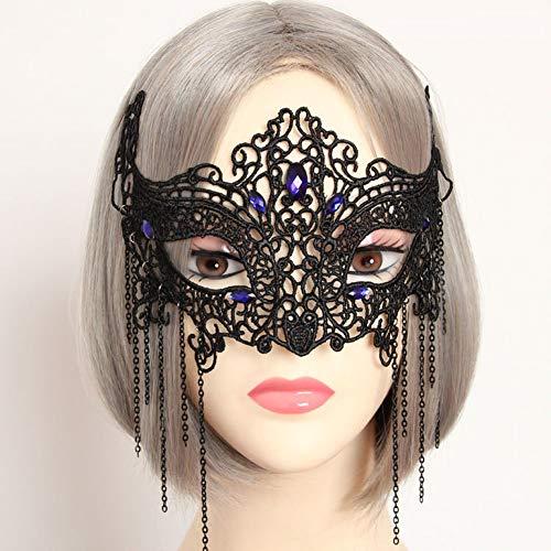 Lace Maske Exquisite High-End-Halloween-Halb-Gesicht Maskerade Party