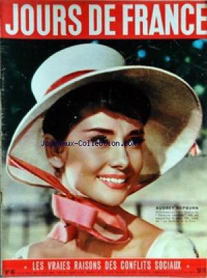 JOURS DE FRANCE [No 46] du 24/09/1955 - AUDREY HEP...