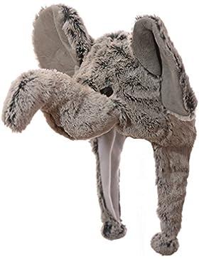Cappello inverno a forma di elefante unisex