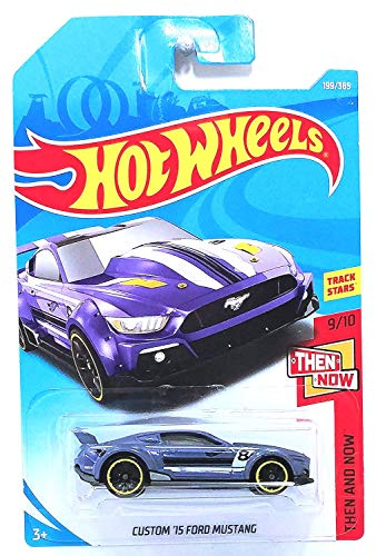 Hot Wheels Ford Mustang Custom 2015 Then and Now 1:64