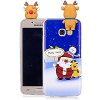 Everainy Samsung Galaxy A3 2017 Silikon Hülle 3D Weihnachts Muster Ultradünn Hüllen Handyhülle Gummi Case Samsung... preisvergleich bei billige-tabletten.eu