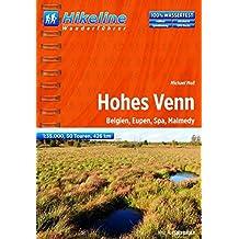 Hikeline Hohes Venn. Belgien, Eupen, Spa, Malmedy, 426 km,  1 : 35 000, GPS-Tracks Download, wasserfest