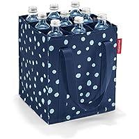Reisenthel zj4044bottiglia borsa portabottiglie per 9bottiglie, Spots Navy–Set di 2