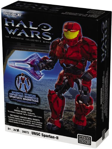 (Mega Bloks Halo Wars Buildable Fig Red Spartan by Halo Wars)