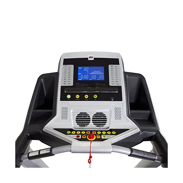 BH Fitness WG6458RF i.Marathoner - Tapis roulant - Elettrico - Pieghevole - Vel.Max. 21 Km/h - Inclinazione in 15… 2 spesavip