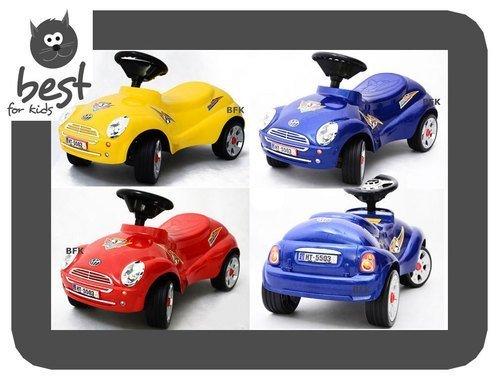 Best For Kids Top Rutscher Auto Autorutscher mit ELEKTRONIK Porsche Rutscherfahrzeug - Rot - 2