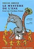 Le Mystère de l'âne (nouvelle édition) - Essai sur Giordano Bruno