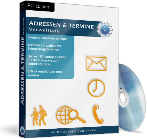 Adressen und Termine – CRM Verwaltung Software