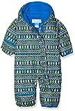 Columbia Schneeanzug für Kinder, Snuggly Bunny Bunting, Polyester, blau (cool grey zigzag/super blue), Gr. 12/18 Monate, 1516331